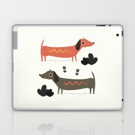 Wiener Dogs Laptop & iPad Skin