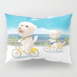 Biking Pillow Sham