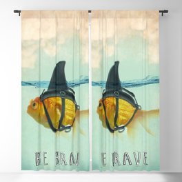 Be Brave - Brilliant Disguise Blackout Curtain