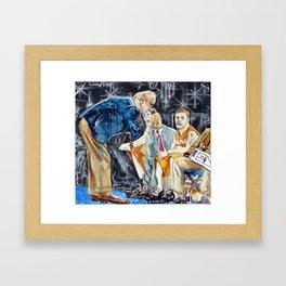 Orangemen Framed Art Print