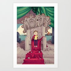The GOOD Morty Art Print
