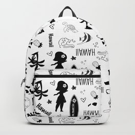 Hawaii State Pattern, State Love, Hawaii Pride, Surfing, Hula Backpack