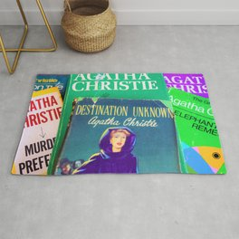Destination Unknown - Vintage Agatha Christie Rug