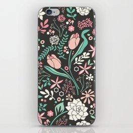 Tulip flowerbed iPhone Skin