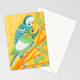 Parakeet Pals Stationery Cards