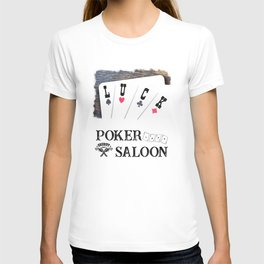 Welcome to the Poker Saloon T-shirt