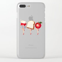 Lunch Ladies Pin-Ups Clear iPhone Case
