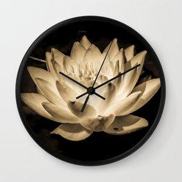 Netherworld Nymphaea Wall Clock