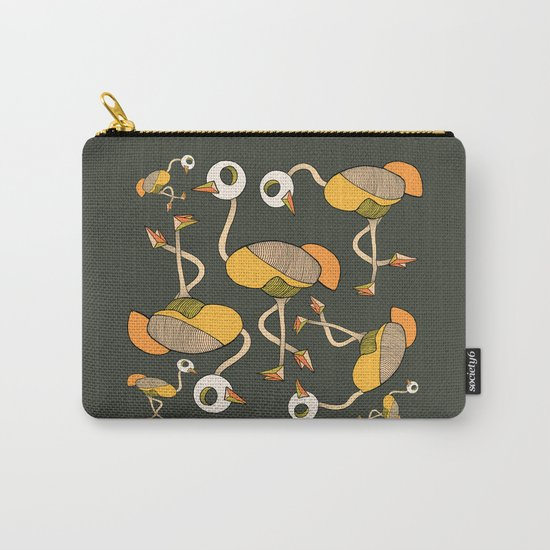 keep your head up - ostrich 3 Carry-All Pouch