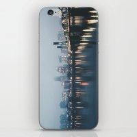 portlandia iPhone & iPod Skins featuring Portland II by Hannah Kemp