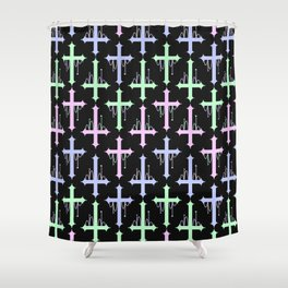Crosses with Beads Shower Curtain