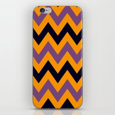 Halloween Chevron iPhone & iPod Skin