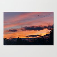 twilight Canvas Prints featuring Twilight by Stephen Linhart