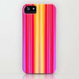 Yellow Pink Light iPhone Case