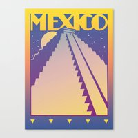 mexico Canvas Prints featuring Mexico by David Chestnutt