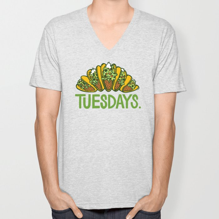 Taco Tuesdays Unisex V-Neck