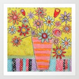 Love All Around Us Art Print