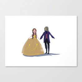 Cute Rumbelle Canvas Print
