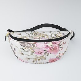 Roses Orchids and Wild Flowers Fanny Pack