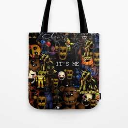 FNAF Cluster Design Tote Bag