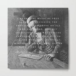 MOZART. Metal Print