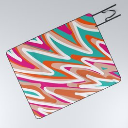 Color Vibes Picnic Blanket