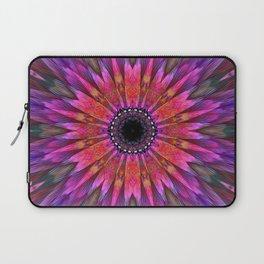 Energy mandala in multicolor Laptop Sleeve