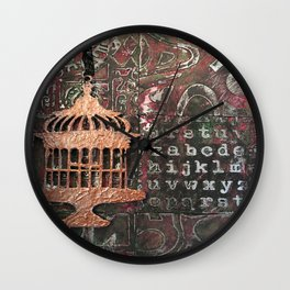 fly the coop Wall Clock