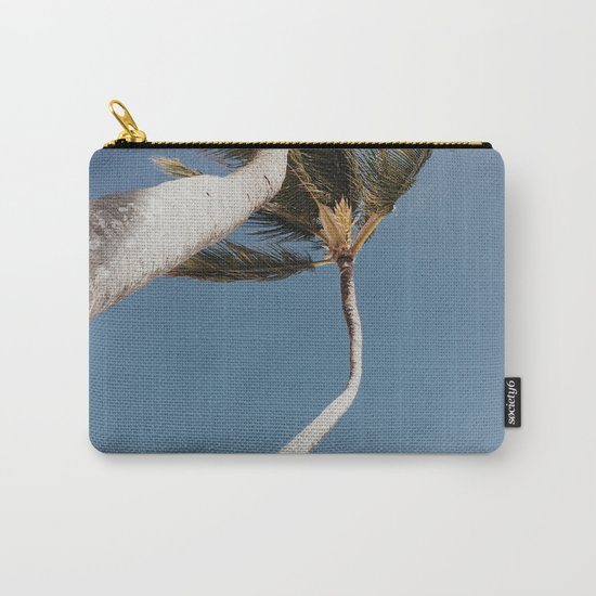Crooked Palm Trees Carry-All Pouch