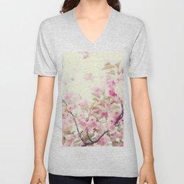 Delicate cherry blossoms Unisex V-Neck