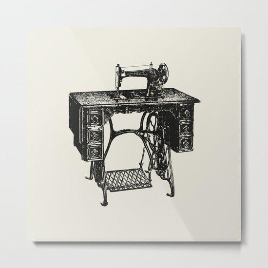 Singer sewing machine Metal Print