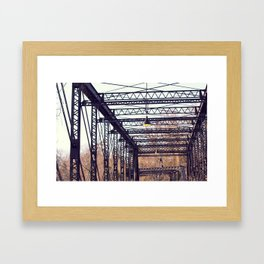 Bridge Framed Art Print