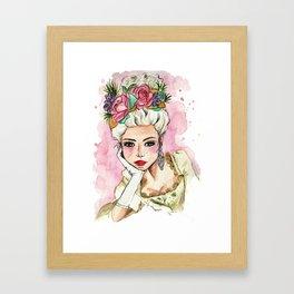 Print Maria Antonieta Framed Art Print