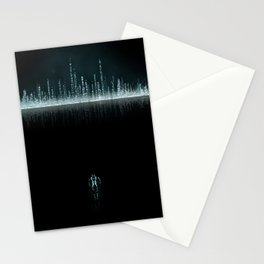 TRON CITY Stationery Cards