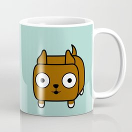 Pitbull Loaf - Red Brown Pit Bull with Cropped Ears Coffee Mug