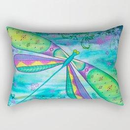 Dragonfly III Rectangular Pillow