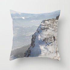 On My Way Home Throw Pillow
