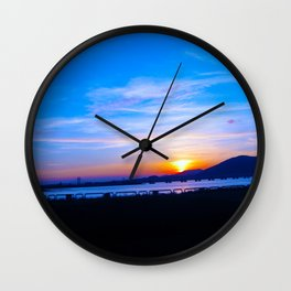 Macau Sunset Wall Clock