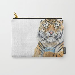 Too Early Tiger Carry-All Pouch