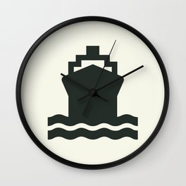 Ship Wall Clock