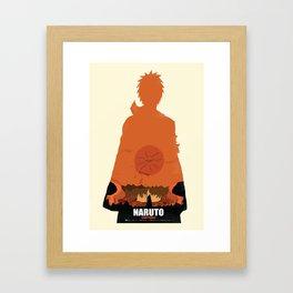 Naruto Shippuden - Pain Framed Art Print