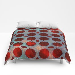 Pattern 3 Red Comforters