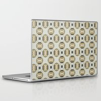 yellow pattern Laptop & iPad Skins featuring yellow by HeidiVaught