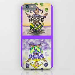 Mirth Jugglers #1 & #2 Together iPhone Case