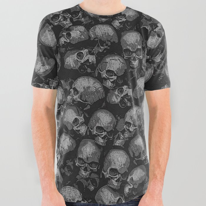 d9ad9f4d Totally Gothic All Over Graphic Tee by grandeduc | Society6