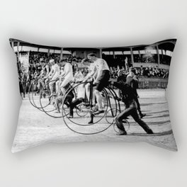 Bicycle race Rectangular Pillow