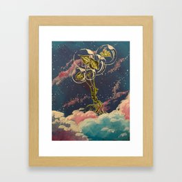 Homegirl Goes to Outer Space Framed Art Print