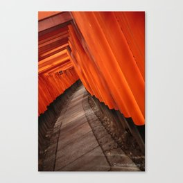 Sea of Red Canvas Print