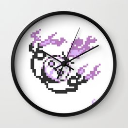 8-Bit Chandelure Wall Clock