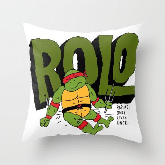 ROLO Throw Pillow